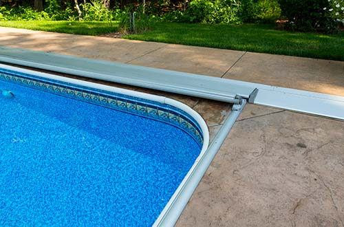 Automatic Pool Covers For In Ground Swimming Pools Installed By Milestone Pool Service